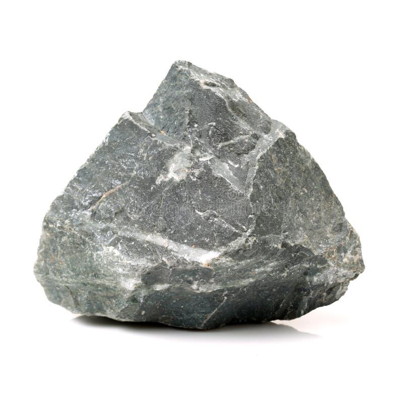 Rocas en el fondo blanco foto de archivo