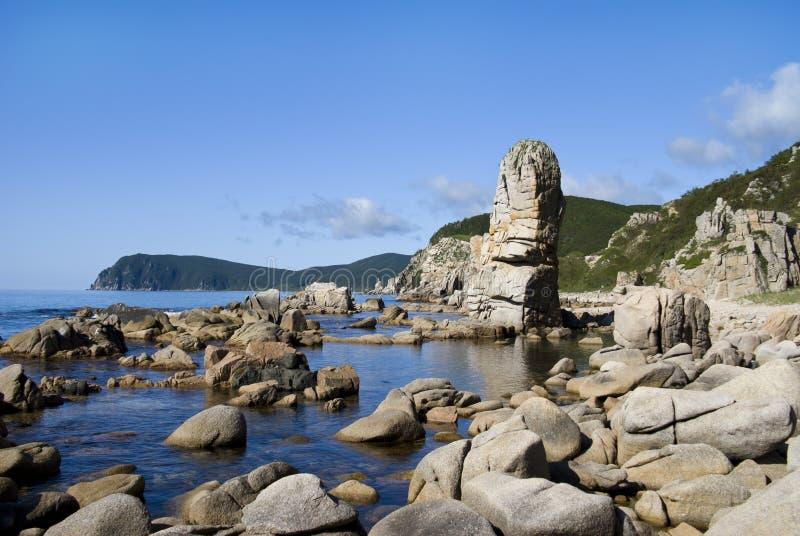 Download Rocas en el mar 1 imagen de archivo. Imagen de costa, yermo - 7281855
