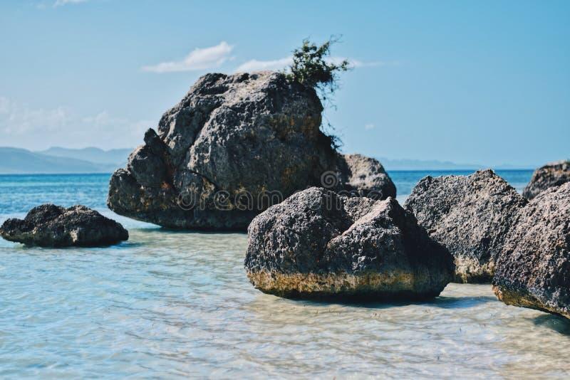 Rocas en el paraíso fotografía de archivo libre de regalías