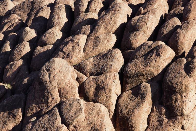 Rocas en el valle de Dades. imagen de archivo libre de regalías