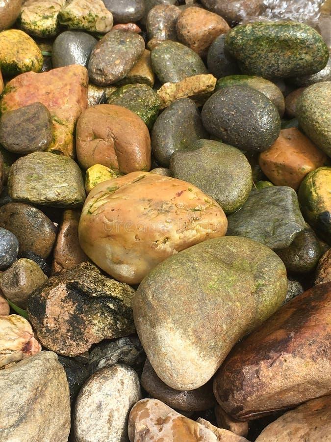 Rocas en fuente fotografía de archivo