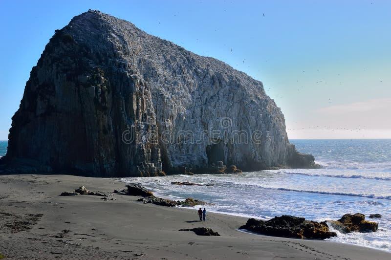 Rocas en la costa de Constitucion, Chile fotografía de archivo libre de regalías