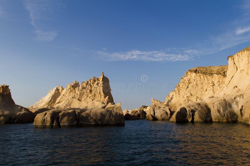 Rocas en la FOCA, Turquía de la sirena fotos de archivo libres de regalías