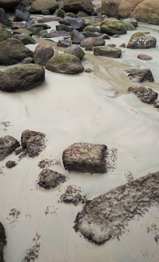 Rocas en la isla de la luna de miel foto de archivo