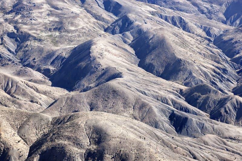 Rocas en las altas montañas de atlas en Marruecos. imagen de archivo libre de regalías