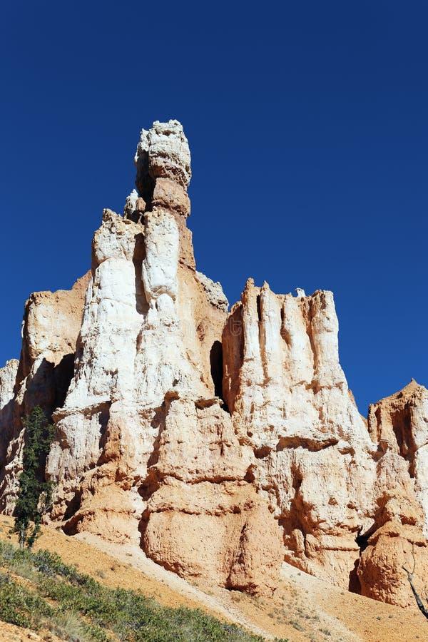 Rocas famosas del hoodoo en el barranco de Bryce foto de archivo libre de regalías