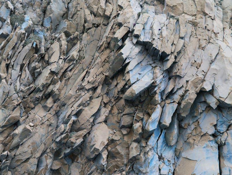 Rocas grises, color azul - fondo abstracto - textura de piedra fotos de archivo