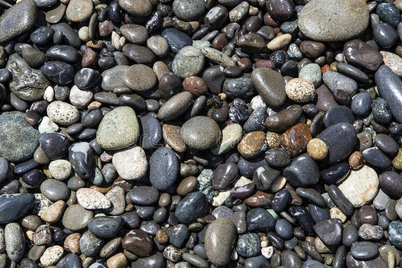 Rocas mojadas imagenes de archivo