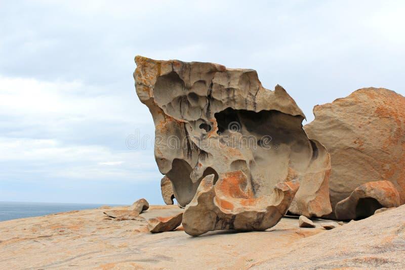 Rocas notables en Australia fotografía de archivo