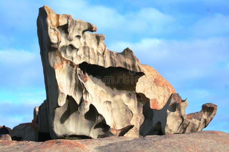 Rocas notables, isla del canguro imágenes de archivo libres de regalías