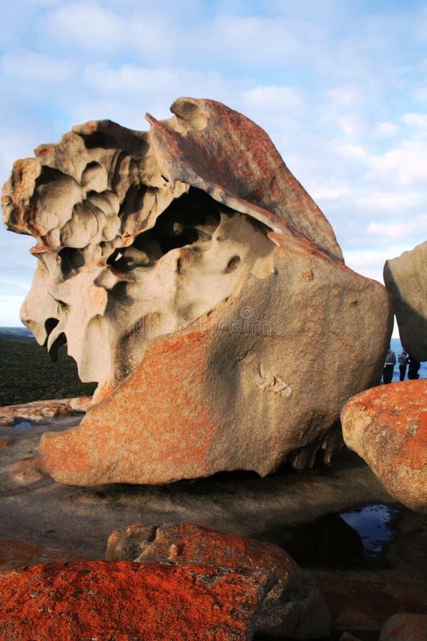 Rocas notables, isla del canguro fotos de archivo libres de regalías