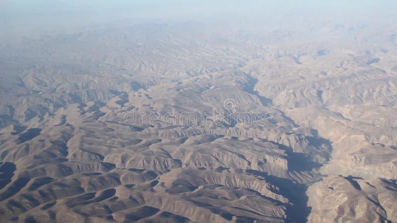 Rocas regionales del desierto de la visión almacen de video
