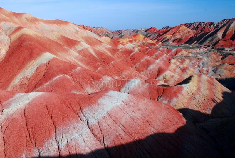 Rocas rojas fotos de archivo