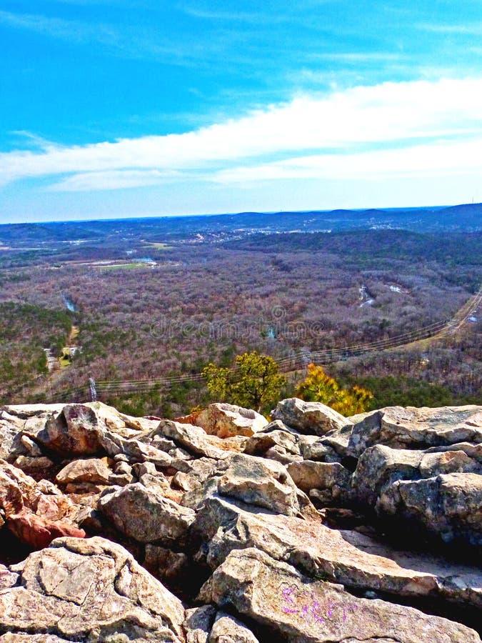 Rocas sobre Little Rock foto de archivo