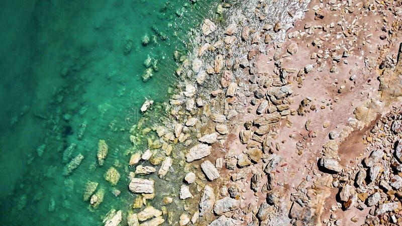 Rocas verdes de x fotos de archivo libres de regalías