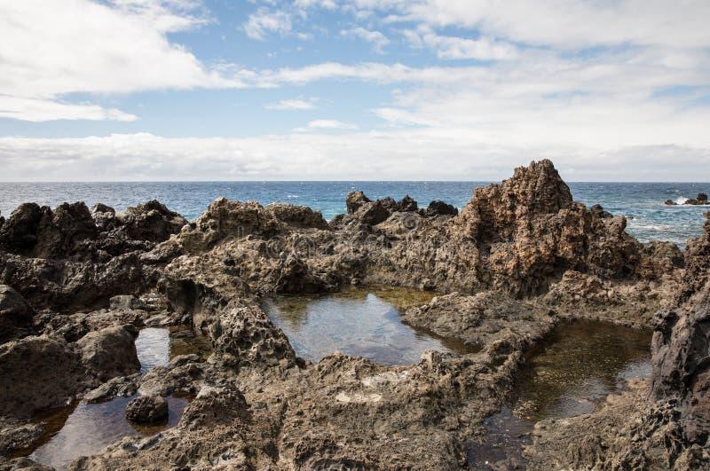 Rocas volc nicas en playa san juan tenerife foto de for Las rocas tenerife