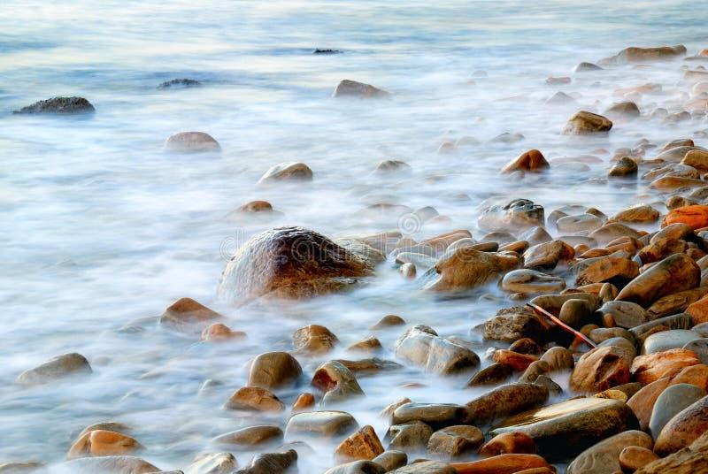 Rocas y agua fotografía de archivo
