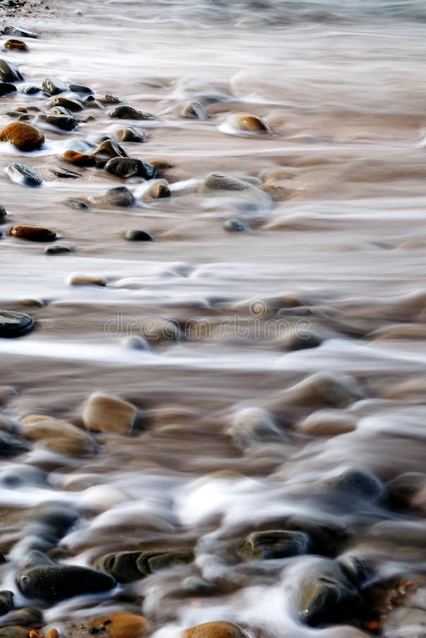 Rocas y agua abstractas fotografía de archivo