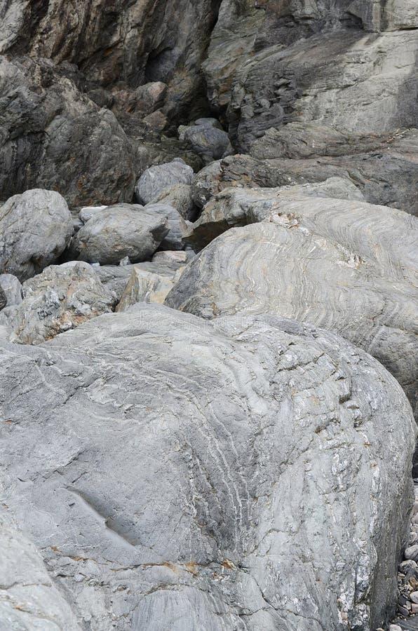 Rocas y bolders foto de archivo