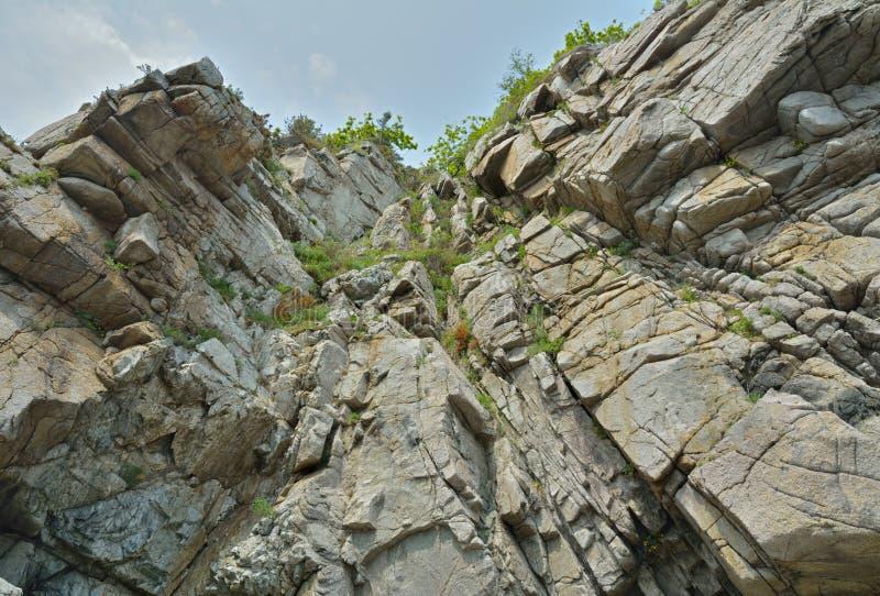 Rocas y cielo 4 fotos de archivo