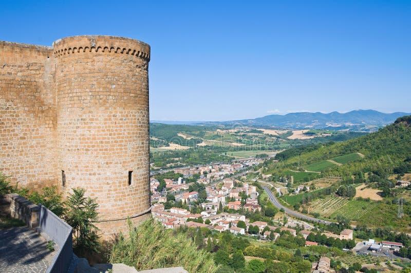 Rocca d'Albornoz. Orvieto. L'Ombrie. L'Italie. photo stock