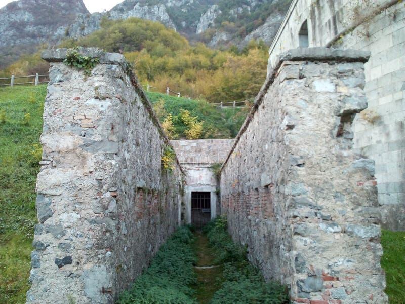 ` Rocca d ANFO-Platz lizenzfreies stockfoto