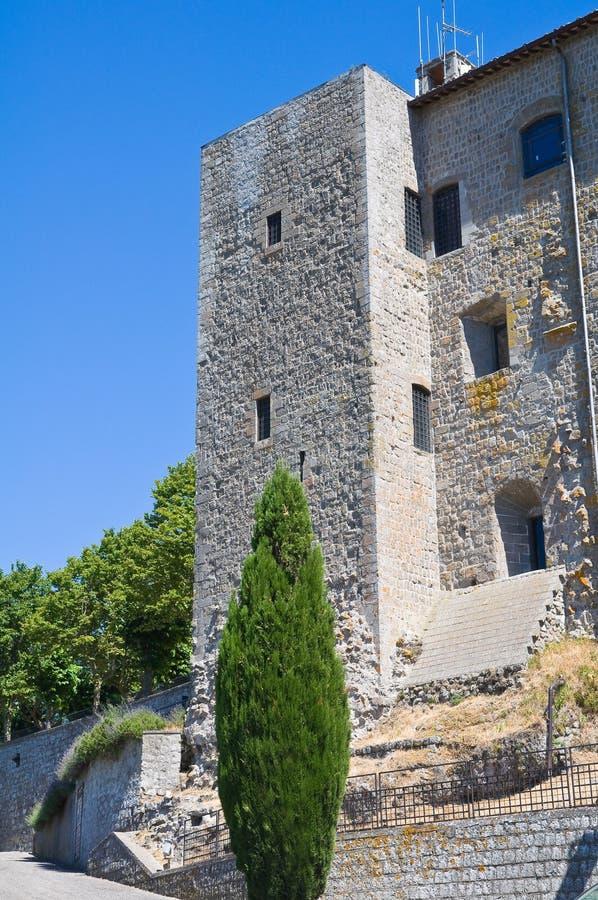 Rocca dei Papi. Montefiascone. Lazio. Włochy. zdjęcie royalty free