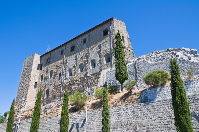 Rocca dei Papi. Montefiascone. Lazio. Włochy. obrazy stock