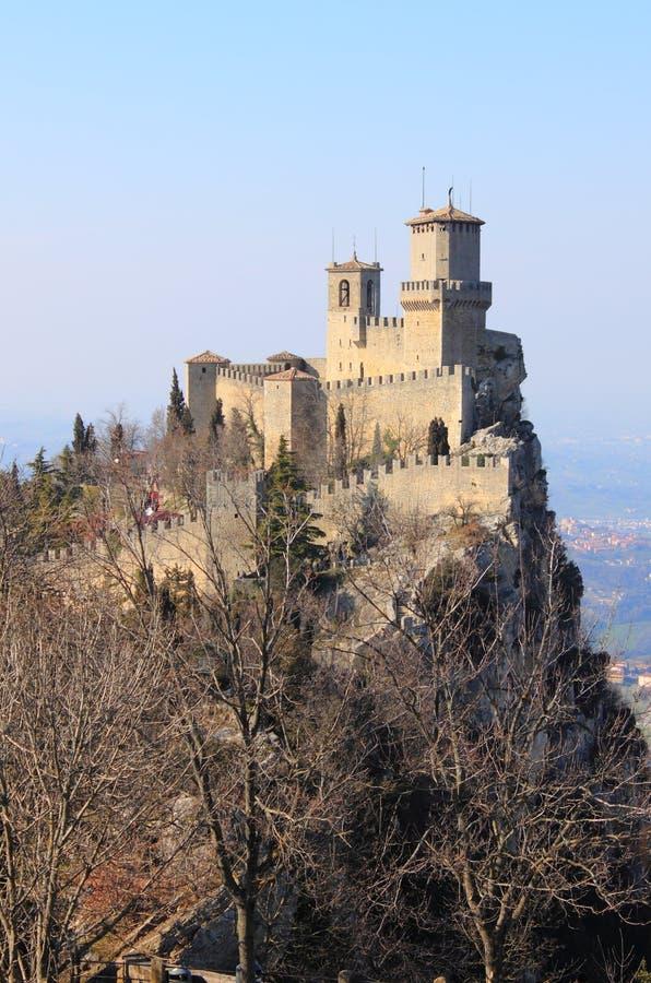 Rocca della Guaita in San Marino royalty free stock photo