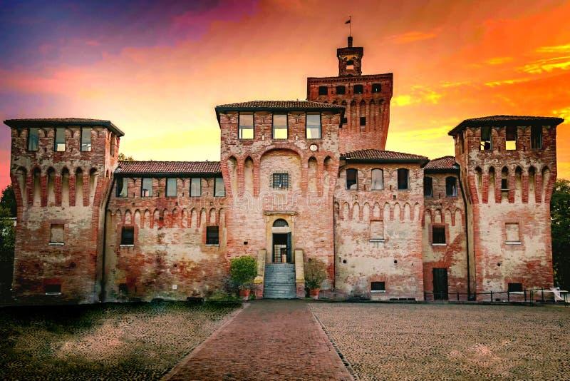 Rocca di Cento, Ferrara Italia fotografia stock libera da diritti