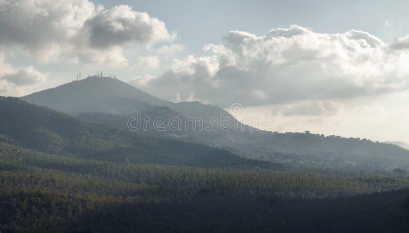 Rocca di Far överblick royaltyfria bilder