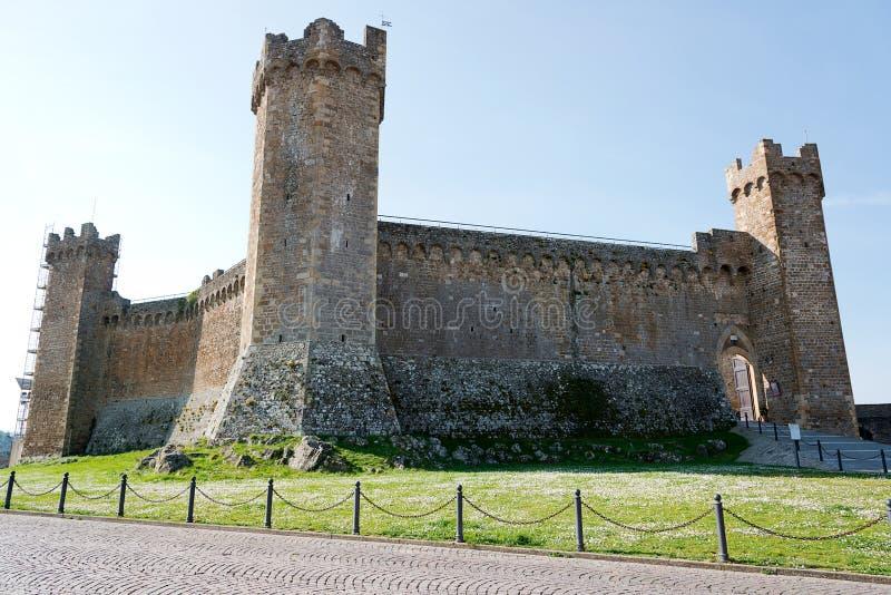 Rocca Di Montalcino στοκ εικόνες