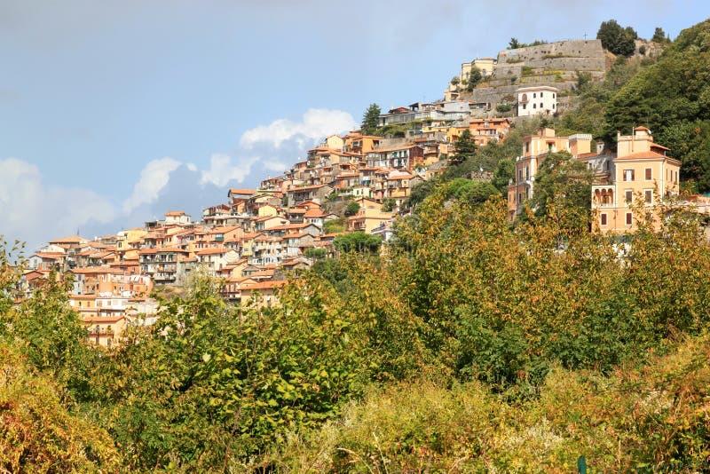Rocca di Papa en Lazio, Italia fotos de archivo