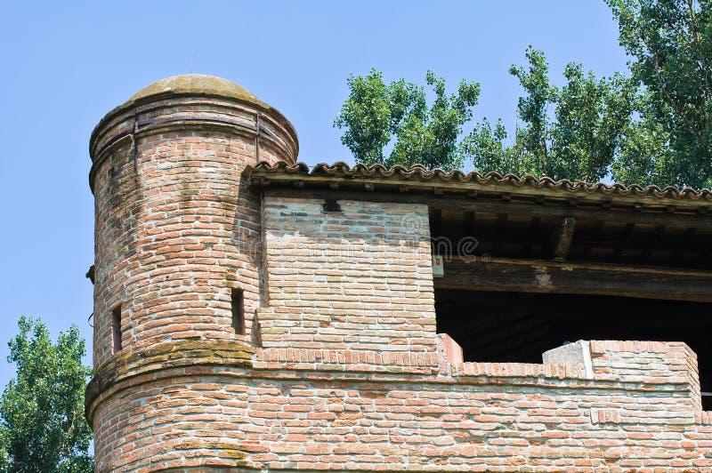 Download Rocca Di Stellata. Bondeno. Emilia-Romagna. Italië. Stock Afbeelding - Afbeelding bestaande uit blauw, renaissance: 29513275