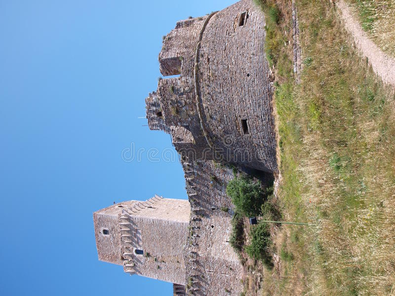 Download Rocca Maggiore, Assisi, Italy Royalty Free Stock Photos - Image: 20816488