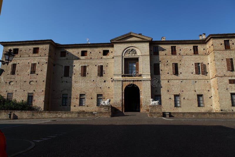 Rocca Meli Lupi de Soragna - Parma - Emilia Romagna - Itália foto de stock