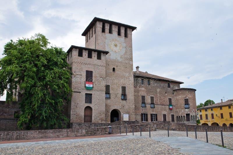 Rocca Sanvitale. Fontanellato. Emilia-Romagna. AIE fotografia de stock