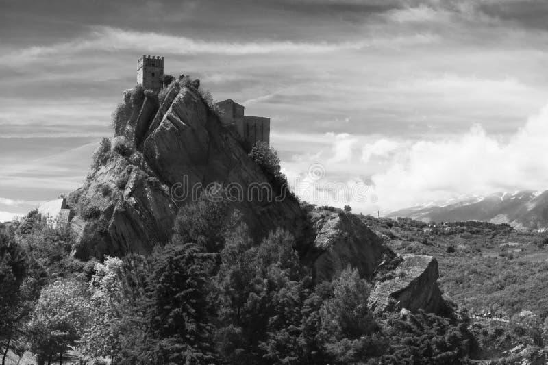 Roccascalegna imagen de archivo