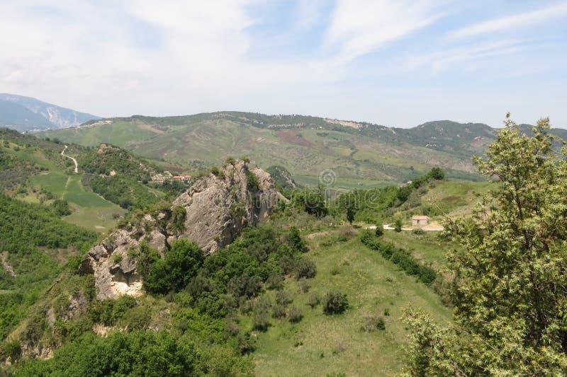 Roccascalegna imagen de archivo libre de regalías