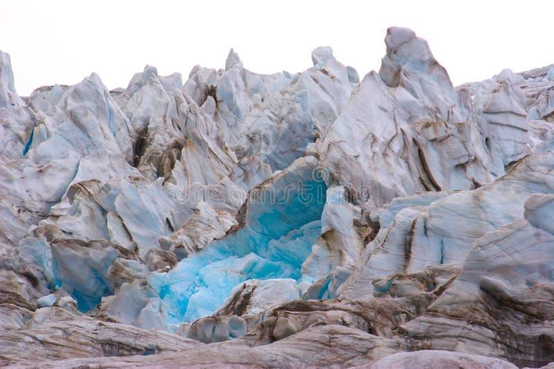Rocce del ghiaccio fotografia stock
