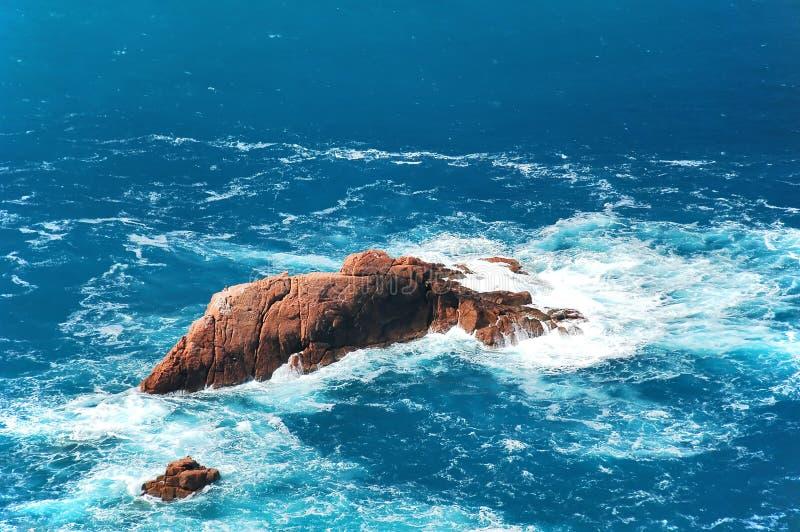 Rocce dell'oceano immagini stock