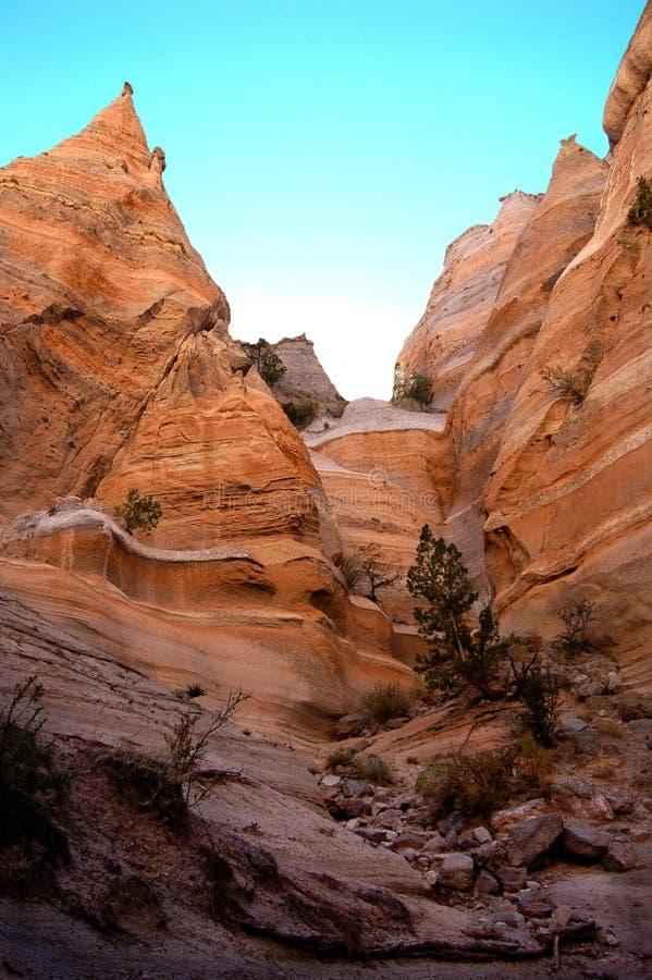 Rocce della tenda, New Mexico fotografia stock