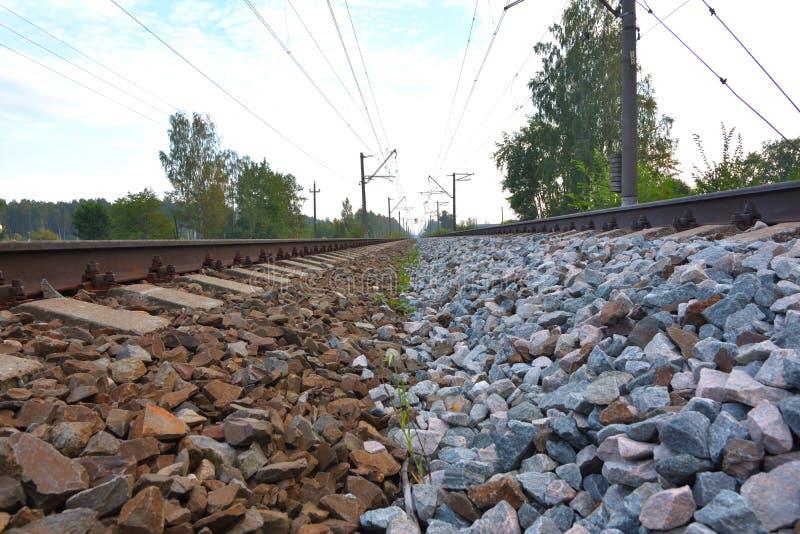 Rocce delle ferrovie, calibro russo fotografie stock