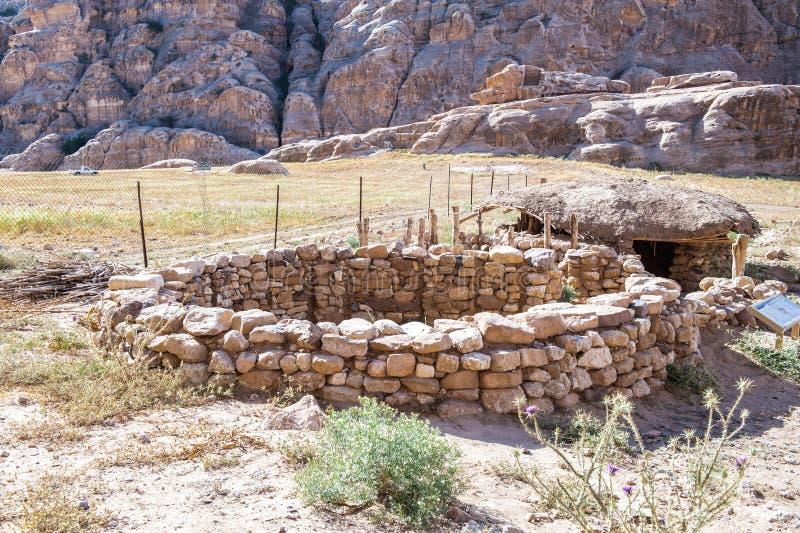 Rocce di Beidha fotografie stock libere da diritti
