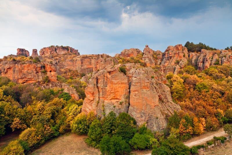 Rocce di Belogradchik fotografie stock libere da diritti