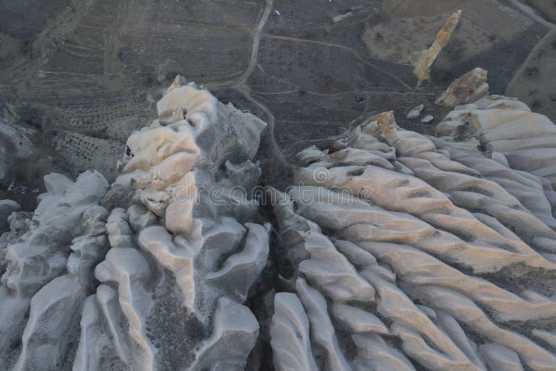 Rocce di Cappadocia fotografie stock