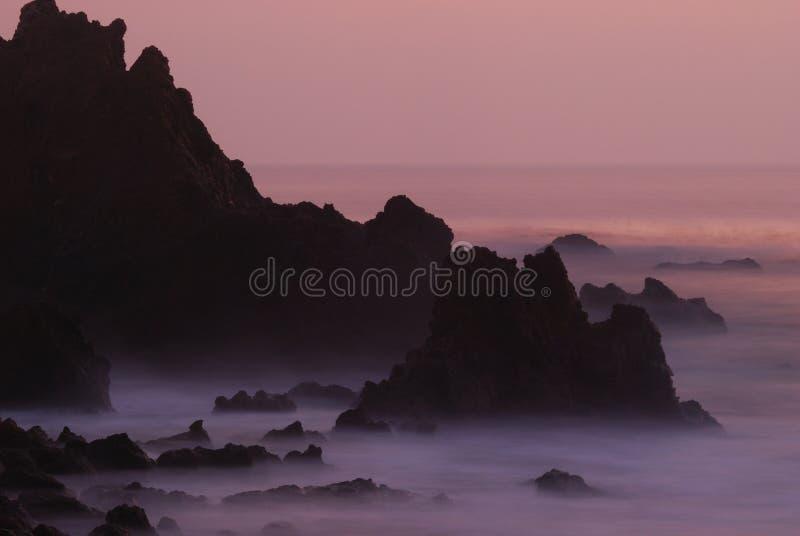 Rocce di Palos Verdes fotografia stock libera da diritti