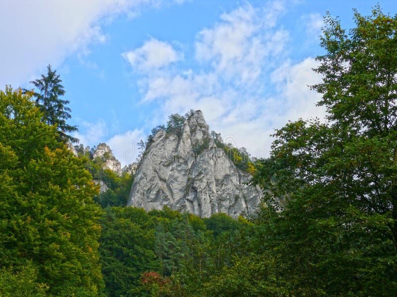 Rocce di Sulov fotografie stock libere da diritti