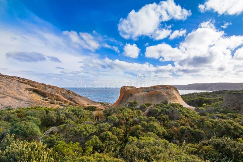 Rocce notevoli, formazione rocciosa naturale all'inseguimento Natio del Flinders fotografia stock