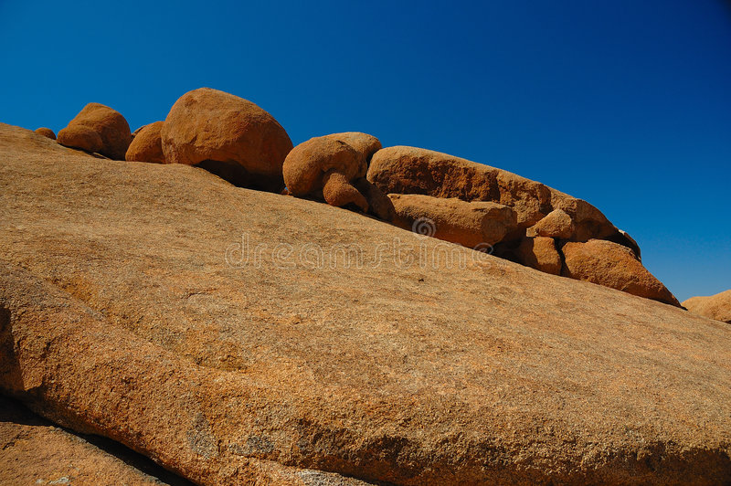 Rocce a Spitzkoppe (Namibia) immagine stock